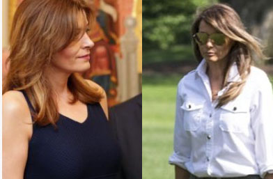 Мелания Тръмп или Деси Радева? Коя ги носи по-добре?