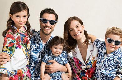 Мама, тати и аз: Семейната колекция на Dolce & Gabbana