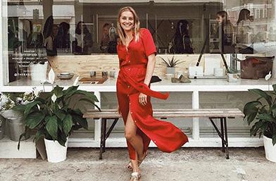 Street style вдъхновения: The RED dress