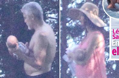 Семейство Клуни бесни: Папараци наснимаха близнаците