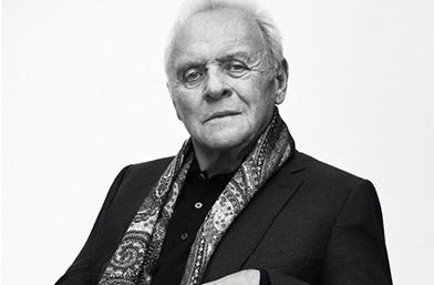 На 79 години Антъни Хопкинс засне модна кампания