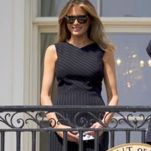 Черно по затъмнение: Фустанът на Мелания - да или не?