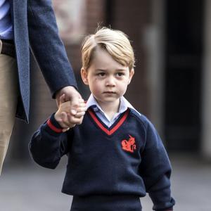 Принц Джордж и първият ден на училище