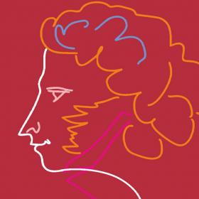 Сборник с най-прочутите белетристични произведения на Пушкин