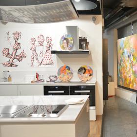 Когато изкуството срещне технологиите или как Miele Experience center посрещна своята втора годишнина!