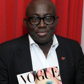 Едуард Енинфул представи първия си брой за Vogue: Кой какво облече?