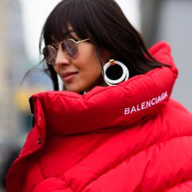 Street style вдъхновения: Червено