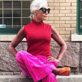 Животът след 45: Тя е на 52 и има по-добър стил от теб!