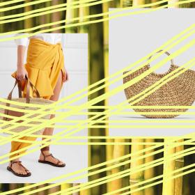 Double Trouble: Бамбук чанта