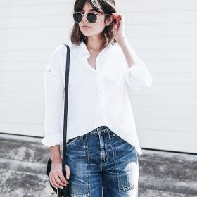 Trend report: Wide leg jeans