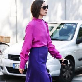 Всички носят: Виолетово