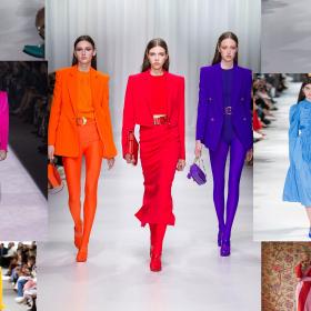 ТенденцииТЕ Пролет/Лято 2018-та: Ярък цвят
