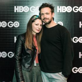 """""""Гомор"""" – италианската мафия се завръща в HBO GO Александър Сано и Боряна Маноилова на предпремиерата на """"Гомор"""""""