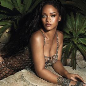 Sexy Tiger: Рири подпали Vogue