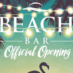 The Beach Bar is HERE