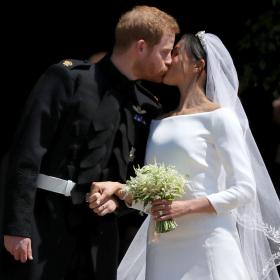 Man & Wife: Хари и Меган си казаха