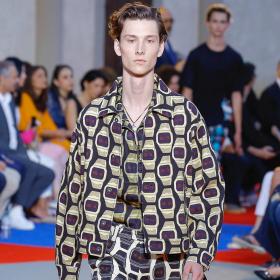 Spring 2019 Menswear: Roberto Cavalli