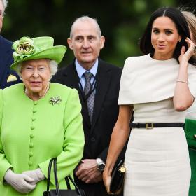 The Duchess & the Queen: Меган и първият й ангажимент с Кралицата