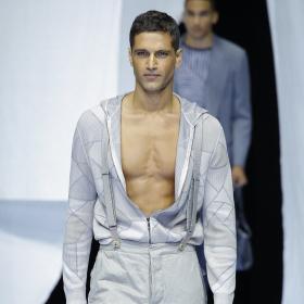 Spring 2019 Menswear: Giorgio Armani
