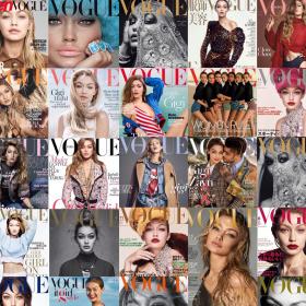 Джиджи VS. Лорън: Коя има повече корици на Vogue?