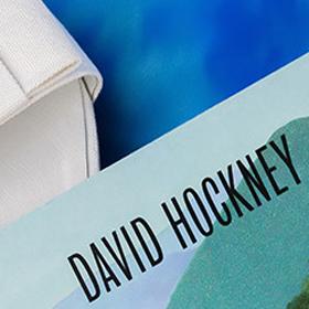 Тези плажни + Дейвид Хокни = Абсолютното идеално!