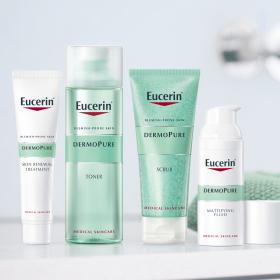 Eucerin DERMOPURE - една нова гама за сияние и гладкост