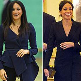 The royal cover-up: Стилистичните трикове, с които Меган скри коремчето