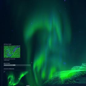 Huawei представя невероятния звук на Северното сияние с помощта на изкуствен интелект