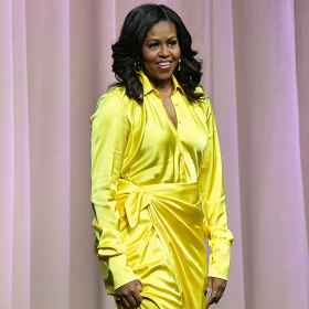 Fashion Diva: Мишел Обама и златните й Balenciaga