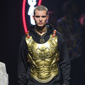 Fall 2019 Menswear: Moschino