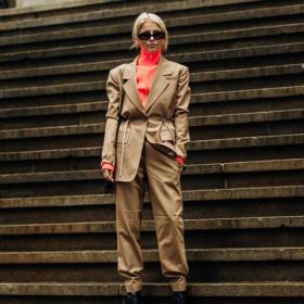Щрак, fashion на портрет: Каролин Даур