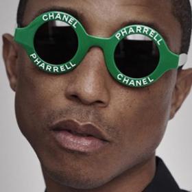 Tease: ChanelPharrell или иначе казано искаме готините кръгли зелени цайси