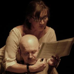 Световно известният чешки драматург и режисьор Петър Зеленка на сцената на Народния театър