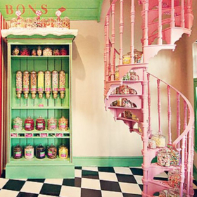 Lunchtime shopping: Welcome to the candy shop