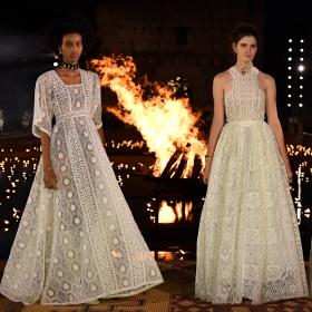 Грандиозният моден спектакъл на Мария Грация Кюри в Маракеш