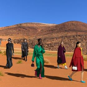 Когато мегаполисите се сливат с дивата природа или и Balenciaga отиде в Мароко