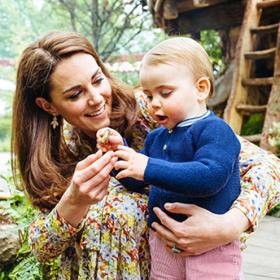 We love: Уилям, Кейт и децата из дивата природа