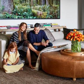 Дизайн за вдъхновение: Семейното имение на Джесика Алба