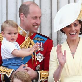 Royal Debut: Принц Луи на балкона на Двореца