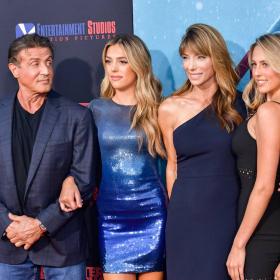 Семейство Сталоун на премиерата на 47 Meters Down: Uncaged