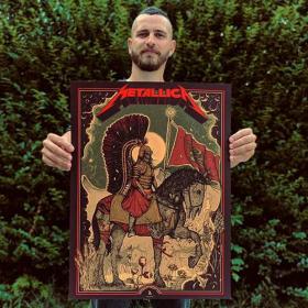 Дидо Пешев - българският илюстратор с официален постер за Metallica