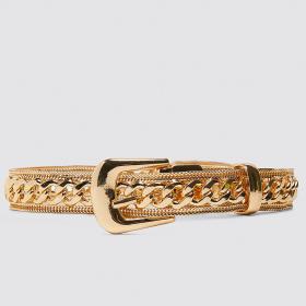 Да или Не: Болезнено златен колан от ZARA?