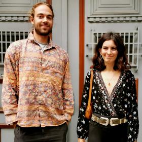 Sofia Street Style: София от Бразилия & Фредерик от Дания, влюбени в България!