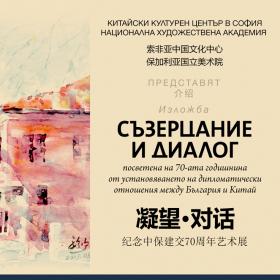 Китайският културен център в София и Националната художествена академия представят изложба