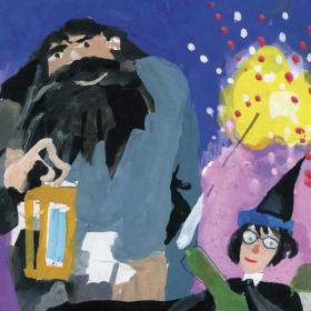 Любен Зидаров нарисува света на Хари Потър