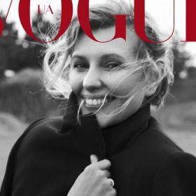 Първата дама на Украйна - Олена Зеленская е корицата на Vogue UA