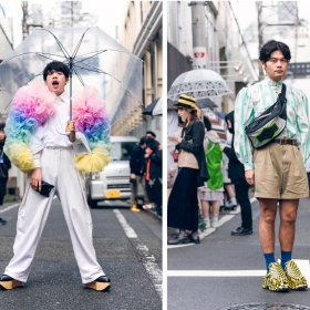 Street style: когато уличният стил засенчва дефилетата, Седмица на модата в Токио