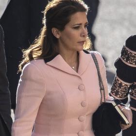 Принцесата беглец на последно изслушване по бракоразводното дело