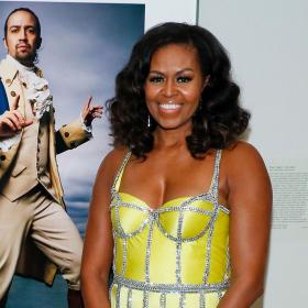 Животът след Белия дом: Мишел Обама в кутюр Schiaparelli