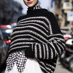 Street style: пуловери ще има за всички от сърце